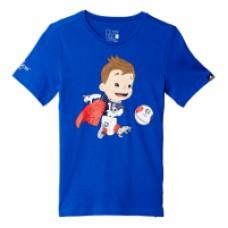 Marškinėliai adidas Mascot Graphic Tee - Blue