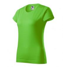 Marškinėliai ADLER Basic Apple Green, moteriški