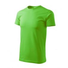Marškinėliai ADLER Basic Apple Green, vyriški
