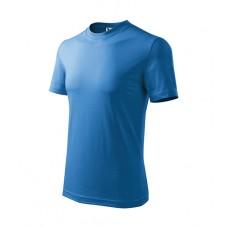 Marškinėliai ADLER Basic Azure Blue, vaikiški