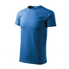 Marškinėliai ADLER Basic Azure Blue, vyriški