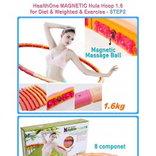 Masažinis lankas HealthOne Hoop, 1.6 kg