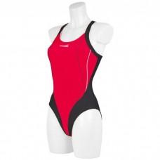 Maudymosi kostiumėlis Aqua-Speed Izabela juoda/raudona