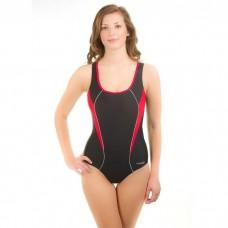 Maudymosi kostiumėlis Aqua-Speed KATE juoda/raudona