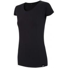 Moteriški marškinėliai 4F TSD001, juodi