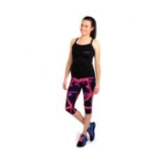 Moteriškos sportinės kelnės - leginsai 3/4 Spokey TRIANI, rožinės