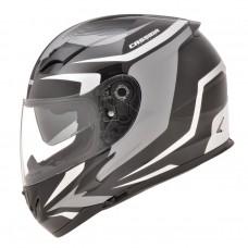 Motociklininko šalmas Cassida Integral 2.0 Black-White-Grey