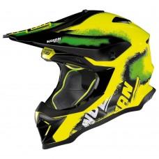 Motociklininko šalmas Nolan N53 Lazy Boy LED Yellow