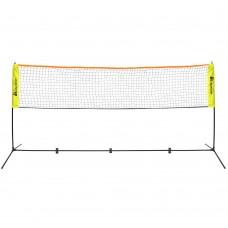 Nešiojamas badmintono tinklas METEOR 3x1,5 m