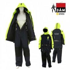 Neskęstantis kostiumas DAM Safety Boat 2-jų dalių geltonas-juodas