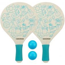 Paplūdimio teniso rinkinys WAIMEA PARADISE mėlynas
