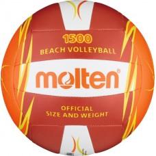 Paplūdimio tinklinio kamuolys MOLTEN V5B1500 raudona/oranžinė