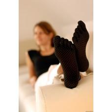 Pilates kojinės SISSEL juodos