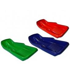 Plastikinės rogutės  SIMPLE 4110607, raudonos