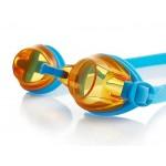 Plaukimo akiniai speedo JET V2 Junior blue/orange