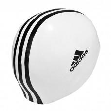 Plaukimo kepuraitė ADIDAS  802309 white, black logo