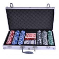 Pokerio žetonų rinkinys Spartan Poker Set 300