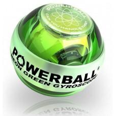 Rankos treniruoklis NSD POWERBALL Green LED 250 Hz