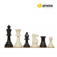 Šachmatai STAUNTON No. 6 plastikiniai
