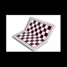 Šachmatų - šaškių lenta (plastikinė) 17X43MM