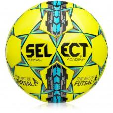Salės futbolo kamuolys SELECT FUTSAL ACADEMY 2016 yellow-blue