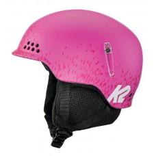 Šalmas slidinėjimui K2 ILLUSION, rožinis