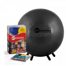 Sėdėjimo kamuolys Original PEZZI Sitsolution MAXAFE 45 cm Black