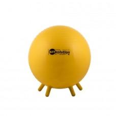 Sėdėjimo kamuolys Original PEZZI Sitsolution MAXAFE 45 cm Geltonas (maišelyje)