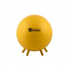 Sėdėjimo kamuolys Original PEZZI Sitsolution MAXAFE 45 cm Yellow (maišelyje)