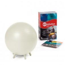 Sėdėjimo kamuolys Original PEZZI Sitsolution MAXAFE 55 cm White