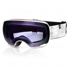 Slidinėjimo akiniai Spokey YOHO, balti