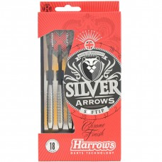 Smiginio strėlytės HARROWS Silver Arrow minkštais antgaliais 18 g