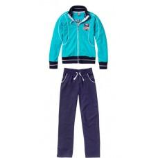 Sportinis kostiumas mergaitėms Q3 GREACE 27948, mėlynas