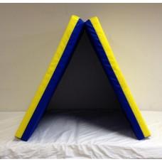 Sporto kilimėlis, 66 x 160 cm, mėlyna/ geltona