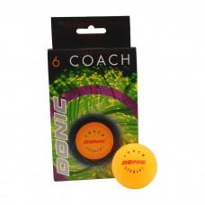 Stalo teniso kamuoliukai Donic Coach - orange