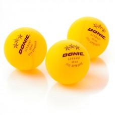 Stalo teniso kamuoliukai *** Donic - yellow