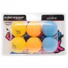 Stalo teniso kamuoliukai Dunlop Nitro Glow funball, 6vnt