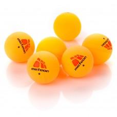 Stalo teniso kamuoliukai METEOR 6 vnt. geltoni