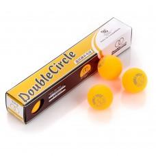 Stalo teniso kamuoliukai Meteor Double Circle - yellow