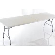 Sulankstomas lauko stalas, 244x76 cm