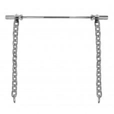 Sunkumų kilnojimo grandinės + grifas inSPORTline Chainbos Set 2x30kg