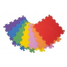 Surenkamos Grindų Dangos detalė Palziv Rainbow, Raudona