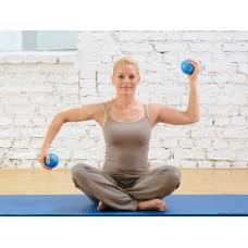 Svoriniai kamuoliai SISSEL® Pilates Toning Ball, 900 g