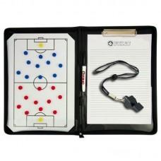 Taktinė lentelė futbolo treneriui + švilpukas FOX 6905-0600
