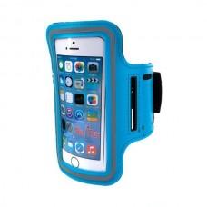 """Telefono dėklas ant rankos MOBILARI ETUI, mėlynas 5,5"""""""