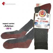 Termo kojinės TAGRIDER Expert Alpine -30°C