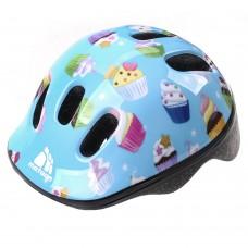 Vaikiškas dviratininko šalmas METEOR MV6-2 muffins
