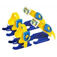 Vaikiškos pačiūžos tvirtinamos prie batų WORKER Duckss Blue