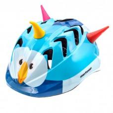 Vaikškas dviratininko šalmas Meteor MV7 bird