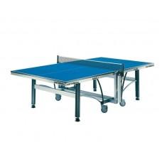 Varžybinis stalo teniso stalas Cornilleau 640 Indoor ITTF - Blue